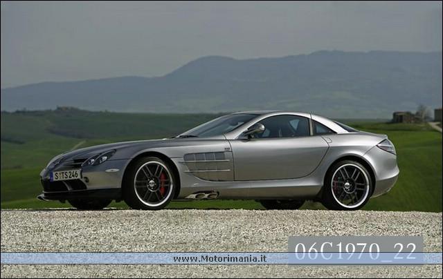 Racing Mercedes Benz SLR McLaren Edition
