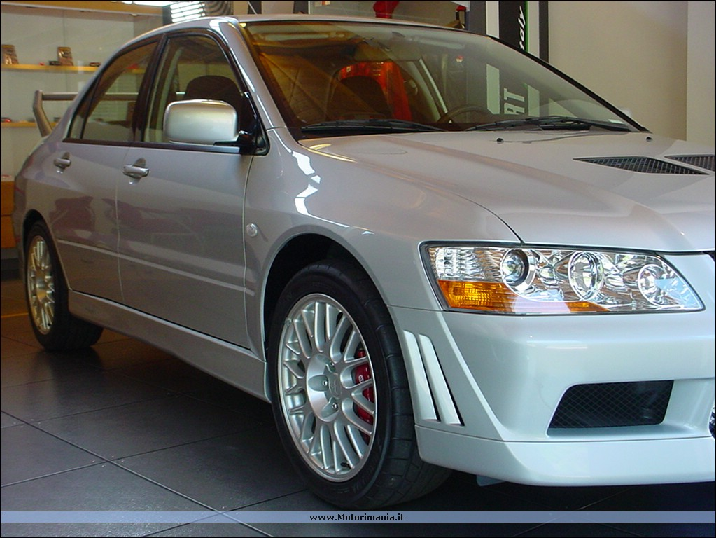 Mitsubishi Evo 6 Rally. Lancer Evo VI 1999 Rally