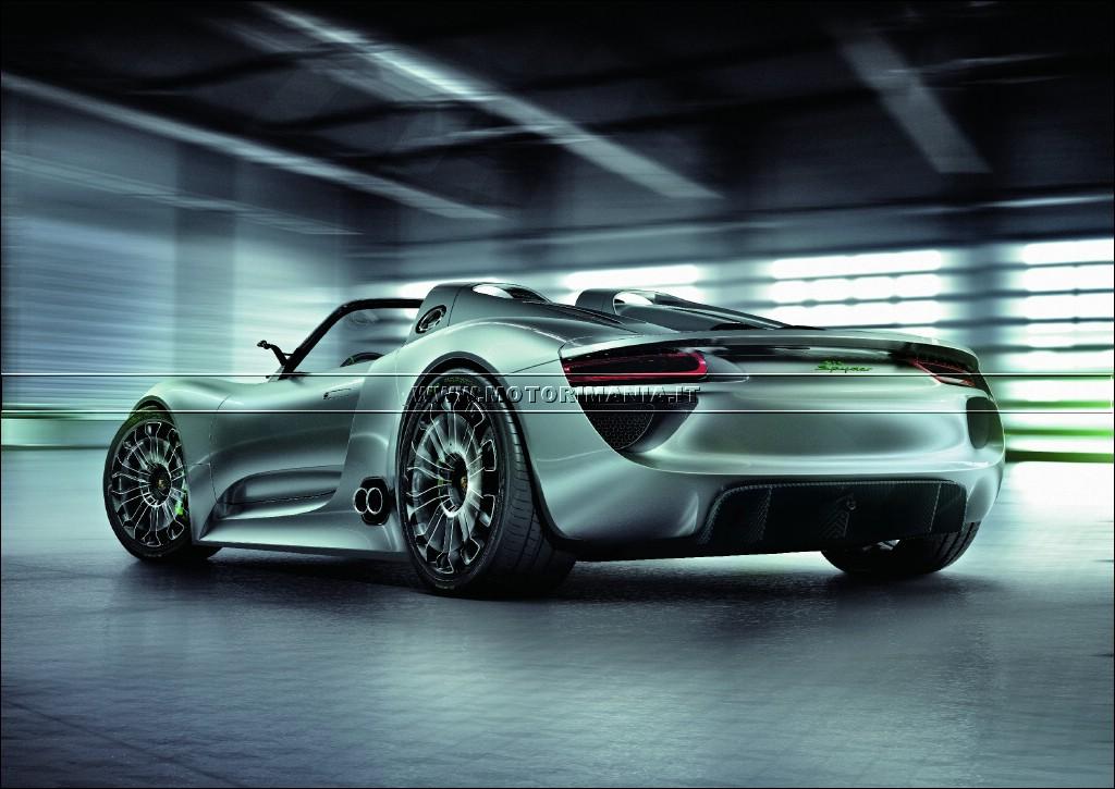 porsche presents 918 spyder high performance concept sports car in geneva. Black Bedroom Furniture Sets. Home Design Ideas