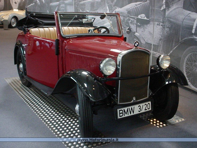 BMW 3/20 PS 1932 - 1934 ~ Car and Cars
